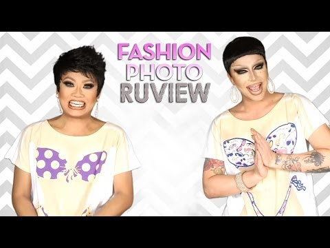 RuPaul's Drag Race Fashion Photo RuView with Jujubee and Raven - Episode 8