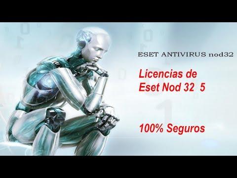 Seriales Y Licencias Para Eset Nod32 5,6,7