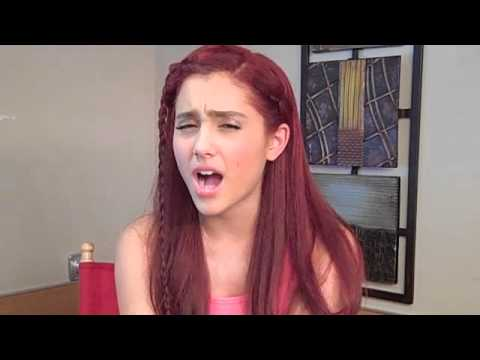 ARIANA GRANDE from VICTORIOUS tells how she would Get a Guy's Attention!
