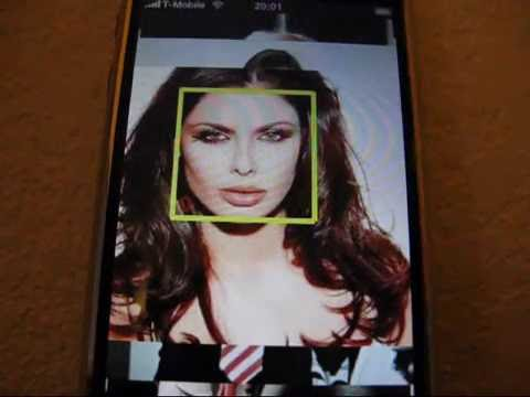Face detection & tracking - iPhone Demo (Part 4)