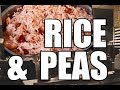 Sunday Dinner !! How To Cook Best Rice & Peas  | Chef Ricardo Cooking