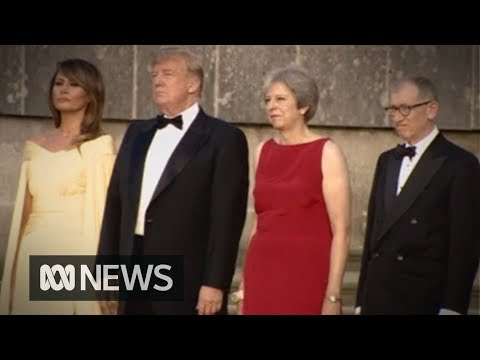 'Fake news': Donald Trump arrives in UK, denies criticising Theresa May in UK newspaper interview