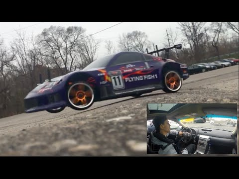 Car Vlog #35 NEW RC CAR!! Jump Drifts!! +  Opening Package!! #gearbest