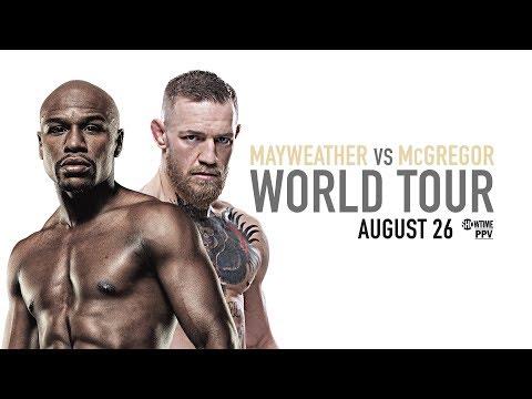 Mayweather vs. McGregor: New York Press Conference
