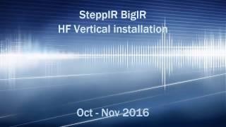 SteppIR BigIR Vertical installation