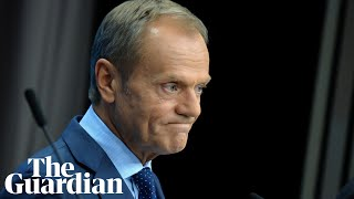 Donald Tusk refuses to rule out granting further Brexit extension