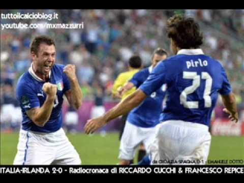 Italia-Irlanda 2-0 – La Radiocronaca Integrale di Riccardo Cucchi & Francesco Repice – EURO 2012
