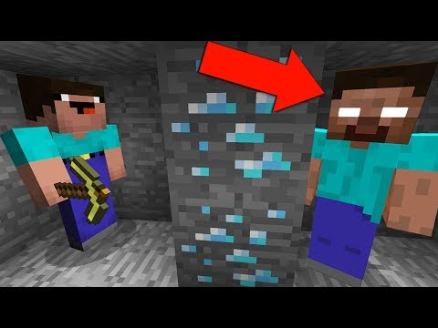 НУБ ЗАТРОЛЛЕН НЕВИДИМЫМ ПРО ХИРОБРИН В МАЙНКРАФТ ! ТРОЛЛИНГ ПРО НЕВИДИМКОЙ В МАЙН! Minecraft Мультик
