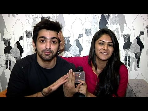 Arjit Taneja And Mrunal Thakur In A Candid Chat With