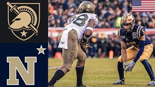 Army vs #23 Navy | 2019 College Football Highlights
