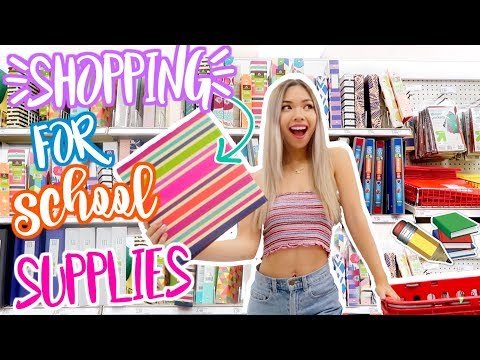 Shopping for Back to School Supplies! 2018