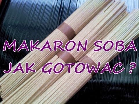 Makaron GRYCZANY SOBA przepis-jak gotować,japoński makaron,wegetariańskie,DietaCudOkinawa