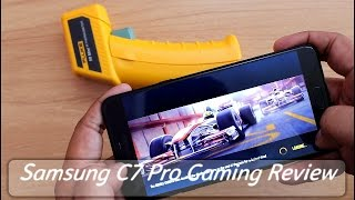Samsung Galaxy C7 Pro Gaming Review With Heating Test I Hindi