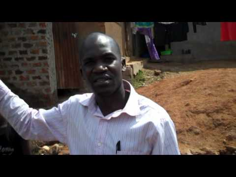 Community Voices for Action: BBC Journalist visit WaterAid work in Kampala Slums