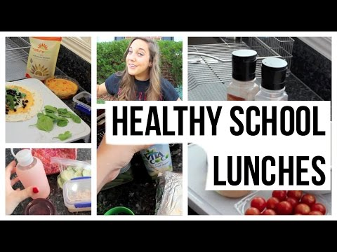 3 EASY and HEALTHY School Lunch Ideas!!
