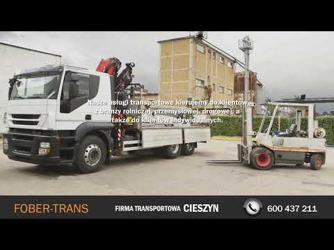 Usługi Transportowe Przewóz Materiałów Sypkich Wywrotka Cieszyn Fober-Trans