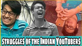 Struggles Of An Indian YouTuber 😨😰 Comedy Sketch😂😂
