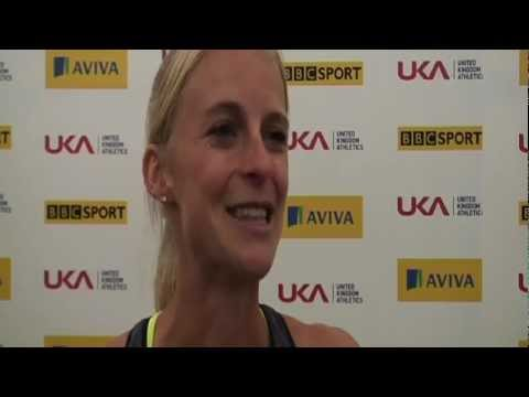 Aviva London Grand Prix - Hannah England - Women&#039;s 1500m