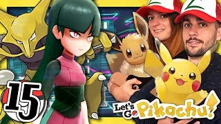 POKEMON LET'S GO PIKACHU EPISODE 15 : CINQUIÈME ARÈNE ! (NINTENDO SWITCH CO-OP FR)