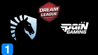 Liquid vs paiN Gaming Game 1  DreamLeague season 9 Highlights Dota 2