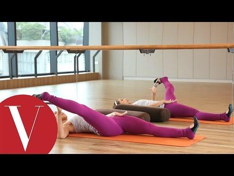 消除腿部水腫超簡單 跟著SpaceCycle的Melissa老師這樣做