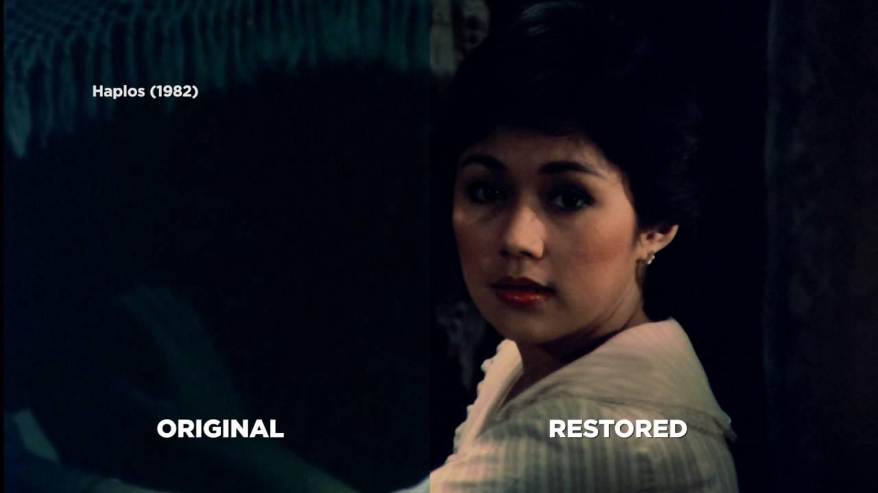 ABS-CBN Film Restoration: Haplos Teaser Before and After