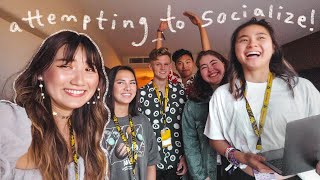 me and my social anxiety went to vidcon!