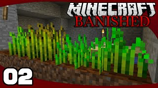FTB Banished - Ep. 2: Growth Spell! | Banished Minecraft Modpack Let's Play