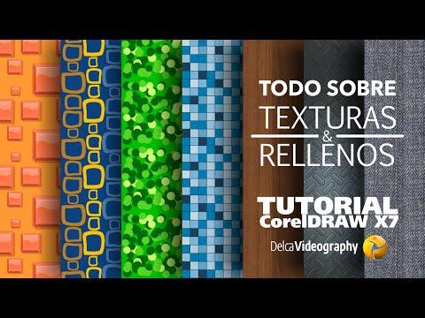 TODO sobre Rellenos y Texturas TUTORIAL 17 CorelDRAW X7