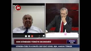 Gündem Özel | Masum Türker DSP Eski Genel Başkanı