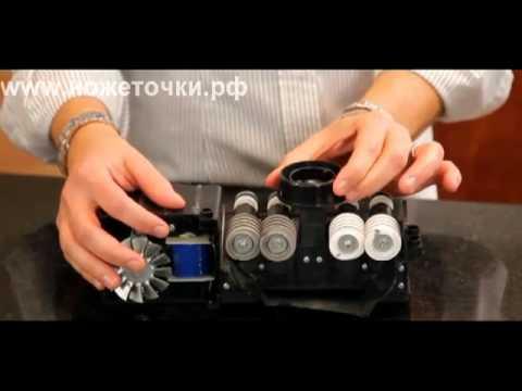 Видеодемонстрация электрической ножеточки EdgeWare 381