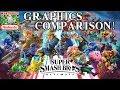 Super Smash Bros Ultimate VS Wii U Graphics Comparison! (E3 2018)