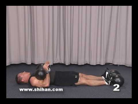 Steve Cotter Kettlebell Abdominals - Double Get Up Sit Up Image 1