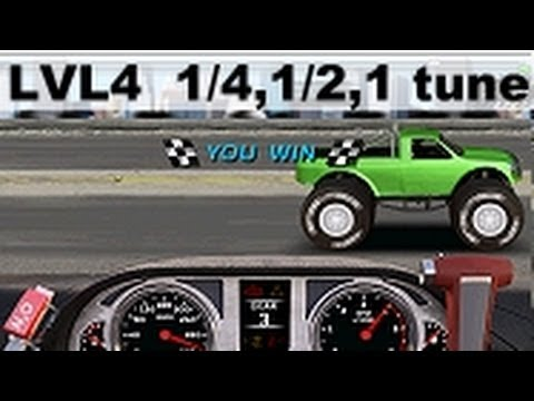 Drag Racing 4x4 Level 4 CM Titan basic tune 1/4. 1/2 and 1 mile