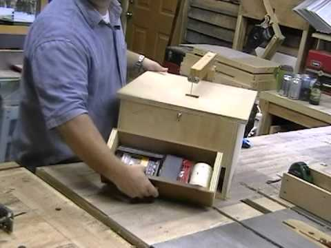 Homemade Rockwell Blade Runner Jig Saw - Woodworking with Stumpy Nubs 23