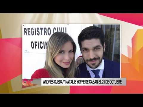 Algo Contigo - Andrés Ojeda y Natalie Yoffe 29 de Agosto de 2017