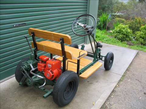 Briggs and Stratton Powered Homemade Prototype Buggy