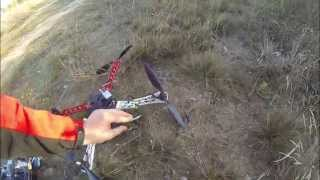 Naza M Lite F450 hard crash. RC FPV