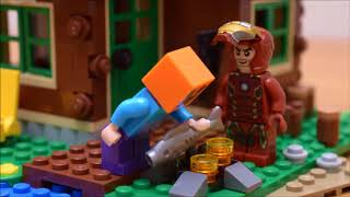 Lego Super Heroes Stop Motion Animation レã,