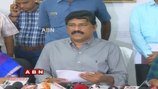 Minister Ganta Srinivasa Rao Holds a Press Meet