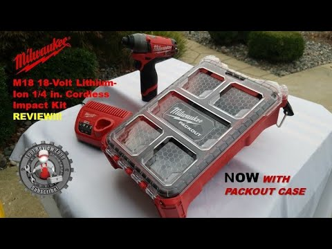 Milwaukee M12 Fuel 12-Volt 1/4 in. Cordless HEX Impact Kit Review