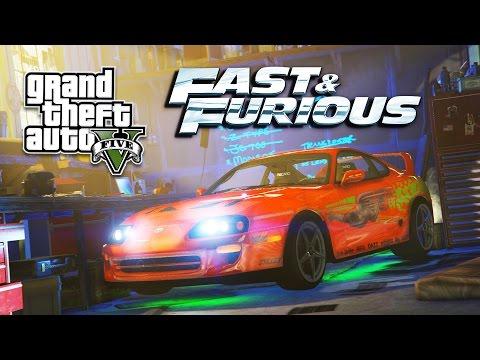 GTA 5 PC Mods - FAST & FURIOUS MOD! GTA 5 FAST & FURIOUS Mod Gameplay! (GTA 5 Mods Gameplay)