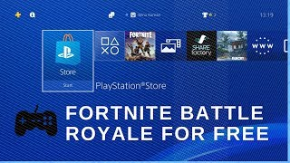 How to Download FORTNITE Battle Royale on PS4