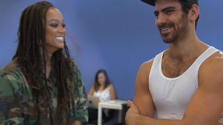 EXCLUSIVE: Tyra Banks Reunites With Model Nyle DiMarco in a Surprise