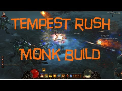 Diablo 3 - Tempest Rush Monk Build 1.07