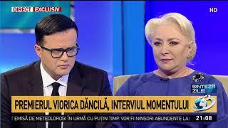 Dăncilă: Cei care jignesc nu fac cinste României