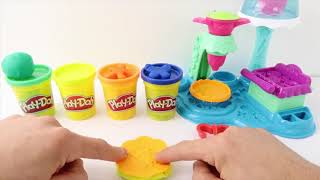Learn Colors With Play doh ice cream Fun Toys Learn Numbers How Make