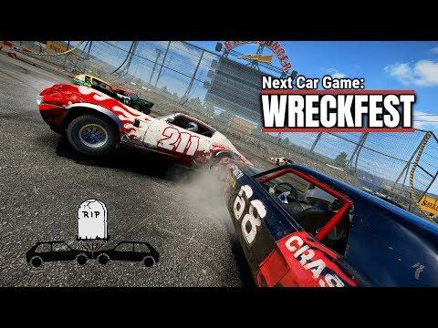 Demolition Derby!! Gameplay Next Car Game: WRECKFEST Mass Destruction 1080p60fps