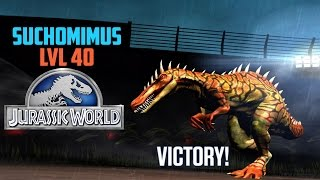 Suchomimus level 40 [ Jurassic World The Game ]