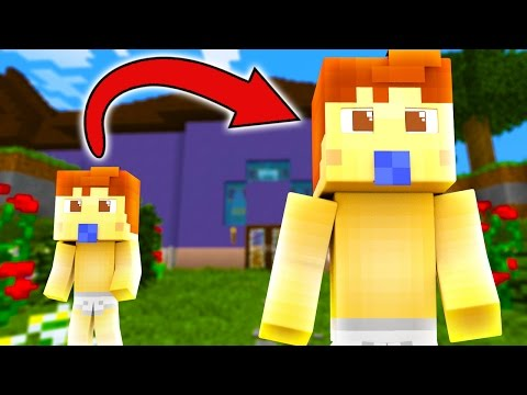 Minecraft | WHO'S YOUR DADDY? BABY TURNS INTO DADDY! (Daddy Is A BABY) w/MangoTango